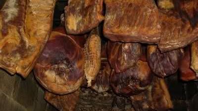 sušeno meso