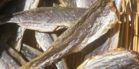 Sušena riba za korizmu