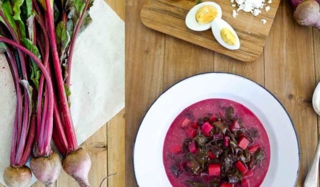 Borcz ili poljska juha od cikle i žumanjaca