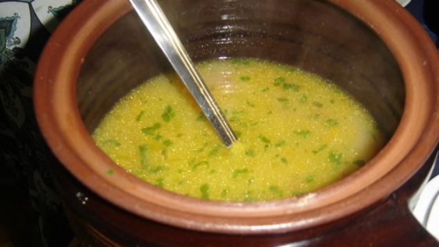 Tradicionalana bakina teleća juha