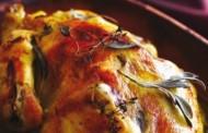 Rimska pečena kokoš u kopru