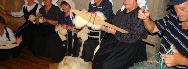 predenje vune i tkanje