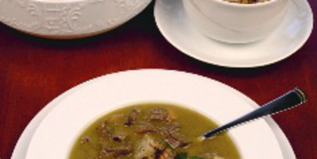 Mesna juha od divljači po starom receptu