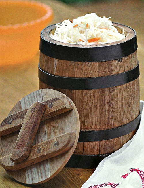 Kiseli kupus na tradicionalni način