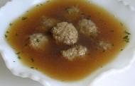Goveđa juha s knedlama od jetrice