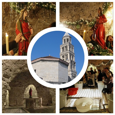 Kripta Svete Lucije u Splitu