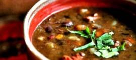 Domaća grahova juha