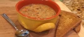 Povrtna krem juha s povrćem