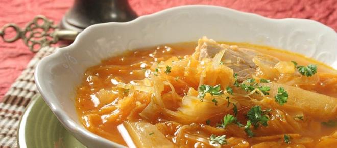 Tradicionalna ruska juha