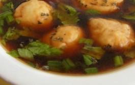 Crna juha ili jetrena juha s žličnjacima