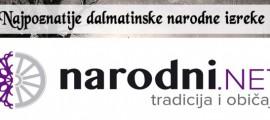 dalmatinske  narodne izreke