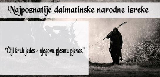 dalmatinske izreke12