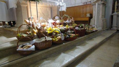 Blagoslov hrane za Veliku subotu