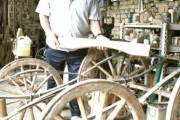 Tradicija kolarstva izrada i popravak zaprežnih kola na selima
