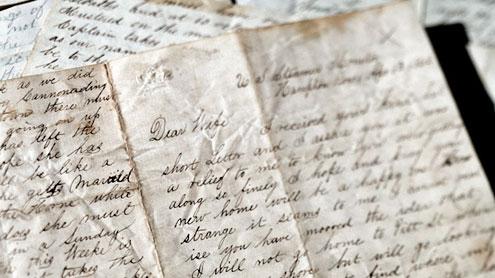 pisanje ljubavnih pisma vojnicima