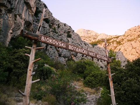 Biokovo najljepši park prirode botanički vrt Koština
