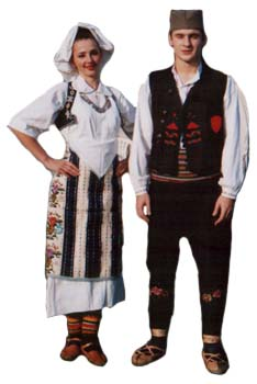 kosovska narodna nošnja muška Kosovska narodna nošnja